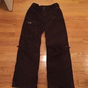 The north face ski pants sz XS
